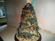 Hawthorne village Thomas Kinkade nativity Christmas tree