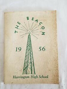 1956 Harrington Maine High School Yearbook The Beacon