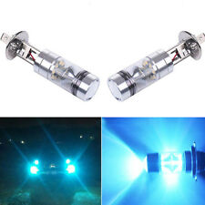 2x H1 12V 100W LED Ice blue 8000k Fog Car Headlight Lamp Globes Driving Bulbs
