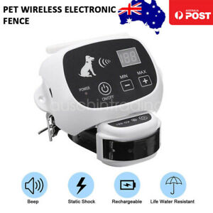 Wireless Electronic Dog Fence System Invisible Pet Electric Containment Collar