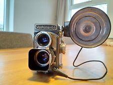 Yashica 44 camera with flash