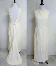 Isaac Mizrahi For Target Wedding Dress - Ivory size 12 Eyelet Lace Sheath Dress