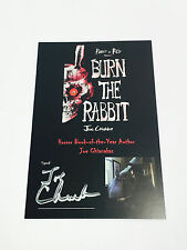 RABBIT IN RED Burn the Rabbit MINI POSTER Signed + DOWNLOAD Horror Block