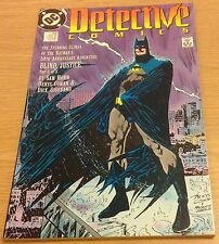DETECTIVE COMICS Batman Blind Justice Comic (DC #600) May 1989