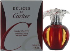 Cartier Delices by Cartier for Women EDT Perfume Spray 1 oz. New in Box