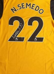 Nélson Semedo Wolverhampton Wanderers Home Signed  20/21 Shirt