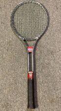 Metal Wilson T3000 Tennis Racket, Vintage with Cover
