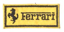 FERRARI TOPPA PATCH RICAMATA NO TERMOADESIVA, DA CUCIRE - CM.7x3