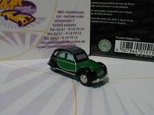 """Schuco Piccolo 01515 # citroen 2 CV Charleston pato en """"verde-negro"""" nuevo!!!"""