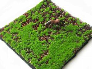 Künstliches dekoratives Moosrasen-Teppich DIY realistisch Rasen-matte