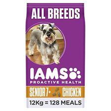 Iams Dog Food Mature  Senior Chicken 12kg