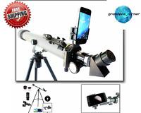 Brand NEW Cassini 800mm x 60mm Astronomical Telescope w/ Smartphone Adapter