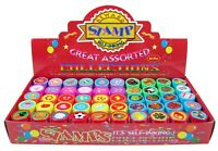 50 Pcs Assorted Stampers for Kids - Birthday Party Favors