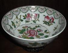 Large Vintage/Antique Chinese Porcelain Bowl