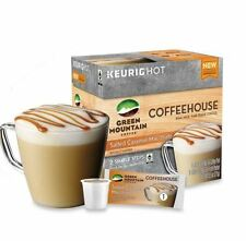 Salted Caramel Mocchiato Pod and Froth Packet - 24 K Cups Green Mountain -