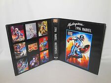 Custom Made 1996 Marvel Masterpieces Series 5 Binder Graphics Only
