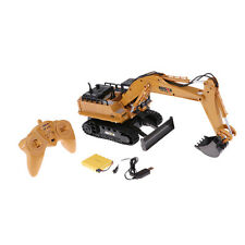 RC Truck Remote Control Excavator Tractor 11CH 2.4G Construction Vehicle Toy