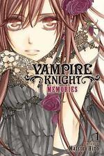 VAMPIRE KNIGHT MEMORIES 1 - HINO, MATSURI - NEW PAPERBACK BOOK
