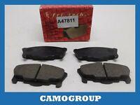 Pills Front Brake Pads Pad Fritech DAIHATSU Move 4740