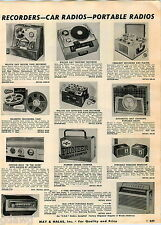 1956 ADVERTISEMENT Geiger Counter Pioneer Radio-Active Accordian Butoni US Bugle