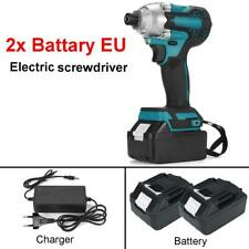 18V 588N.m. Li-Ion 1/4'' Brushless Cordless Electric Screwdriver with 2 battery