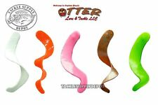 Otter Lures Otter Tail Curly Short Saltwater Trailer Bait 4-3/4in 10pk - Pick