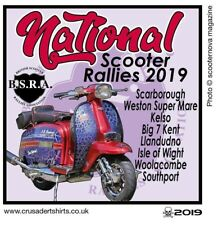 2019 OFFICIAL NATIONAL RUN YEAR PATCH BSRA MODS SKINHEADS not PADDY SMITH VESPA