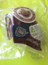 Colorado Avalanche Helmet Keychain -  official licensed product -heavy plastic