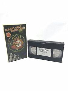 Magic Star Traveler Volume 1 (VHS, 1986) Jerry Layne Puppets Kids Animals - RARE