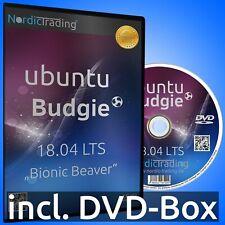 Ubuntu Budgie 18.04.3 LTS DVD Linux Betriebssystem Markenware