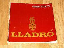 LLADRO EDICION 1978-79  139 PG PB    IN SPANISH???