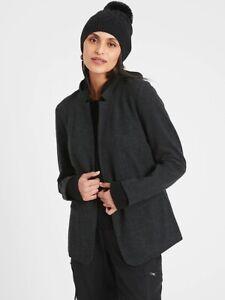 Banana Republic Black Brushed Knit Blazer Size L