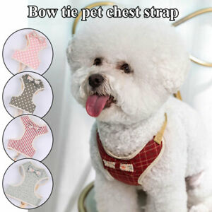 Cute Mesh Soft Puppy Pet Dog Harness Breathable Comfortable  Chest Strap S M L