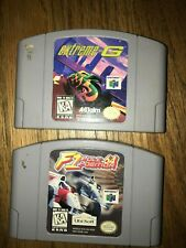 Nintendo 64 Lot of 2 Cartridges F1 Pole Position 64 Extreme-G Vintage 1997