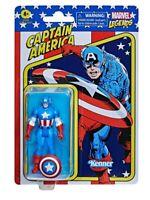 NEW SEALED 2021 Kenner Marvel Legends Retro Captain America Action Figure
