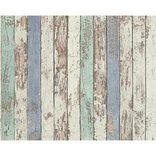 NUOVO come creazione Painted Wood FASCIO ecopelle effetto texture Carta da parati in vinile