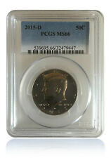 PCGS MS66 2015-D Kennedy Half Dollar Gem Uncirculated 50C