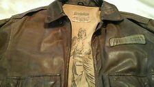 Vintage No Surrender Bomber leather jacket air force military memorabilia offer