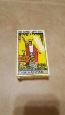 Rider Waite ORIGINAL Tarot Card Cards Deck 78 Cards REGULAR size + Instructions