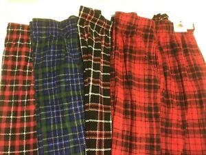 Men's Sleepwear - Fruit of the Loom - Fleece Lounge Pants - You Pick Christmas