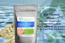 90 COLON CLEANSE DIGESTIVE SUPPORT ALOE VERA CLEANSING WEIGHT LOSS DIET PILLS