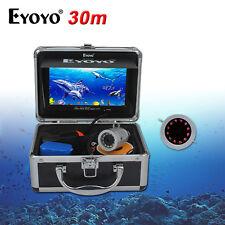 "7"" Color LCD HD 1000TVL Fish Finder Sea/Ice/Boat IR Underwater Fishing Camera"
