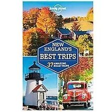 Lonely Planet New England's Best Trips (Travel Guide)-ExLibrary