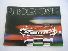 Booklet SU ROLEX OYSTER 50.3.80 Booklet Libretto ref. 579.24 SPANISH VERSION