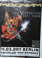 "MAGNUM ""The Visitation"" Tour Poster BERLIN 11.03.2011"