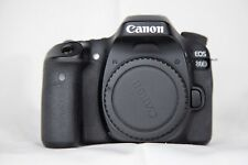 Canon EOS 80D 24.2MP DLSR Camera - Black (Body Only) WITH BATTERY AND STRAP