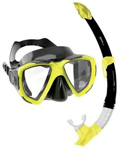 Mares Trygon Adults Silicone Mask & Snorkel Combo Set - Colour Choice