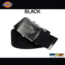 Dickies Cotton Web Belt Military Buckle One Size Fits All to Size 42 11DI0302