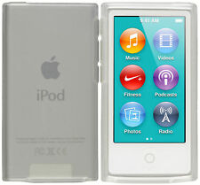 mumbi Hülle f. Apple iPod Nano 7G Schutzhülle Case Tasche Cover transparent weiß