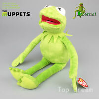 NEW The Muppets Kermit The From Plush Soft Toy Stuffed Doll 40cm 16'' Teddy Gift